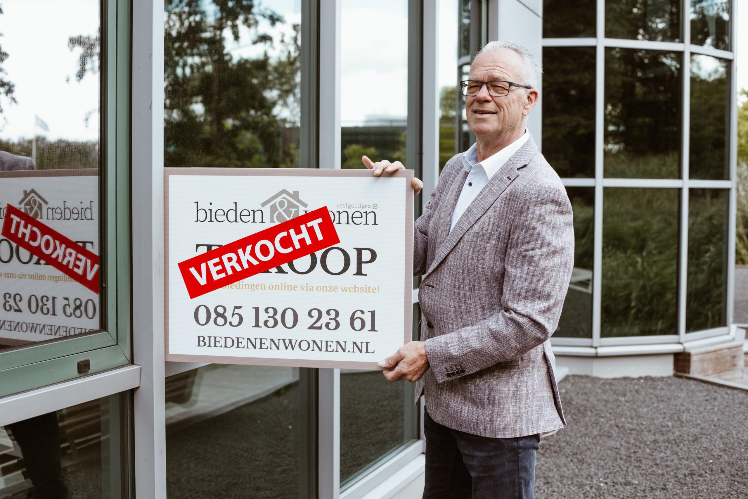 Arend Verbeek vestigingsmanager Bieden en Wonen Makelaars Apeldoorn