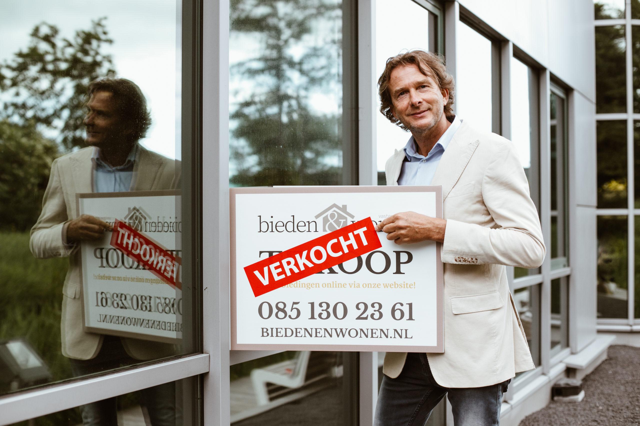 Marco Verbeek vestigingsmanager Bieden en Wonen Makelaars Amsterdam